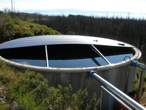 concrete tank roof half on2