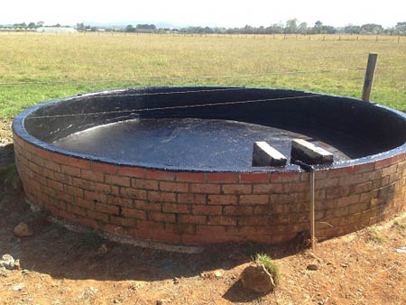 liquid rubber waterproofing bayles brick trough 027